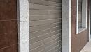 persiana aluminio anodizado acero vista lateral perfil