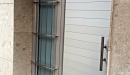 puerta aluminio anodizado machambrado vista perfil