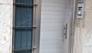 puerta aluminio anodizado machambrado vista frontal