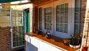 ventana y puerta rpt. apertura exterior vidrio con barrotillo