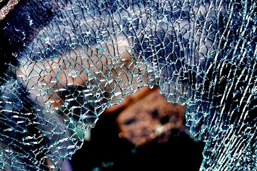 rotura vidrio templado
